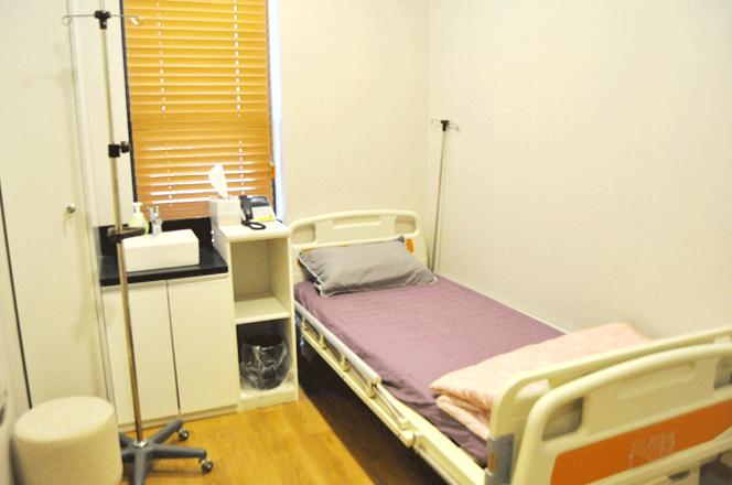 박영준이비인후과 입원실